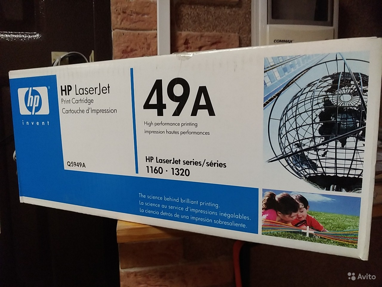 Новый картридж HP 49a в коробке
